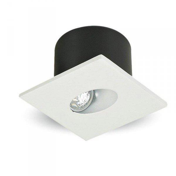 Oprawa Schodowa 3W LED V-TAC Kwadrat Biały 230V VT-1109 3000K 120lm