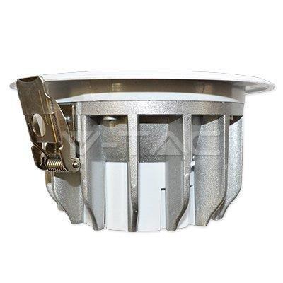 Oprawa V-TAC 20W LED COB Downlight VT-2625 4000K 1700lm