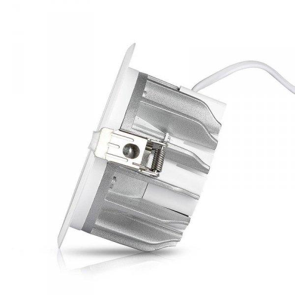 Oprawa 10W LED V-TAC COB Downlight Okrągły A++ 120lm/W VT-26101 3000K 1200lm
