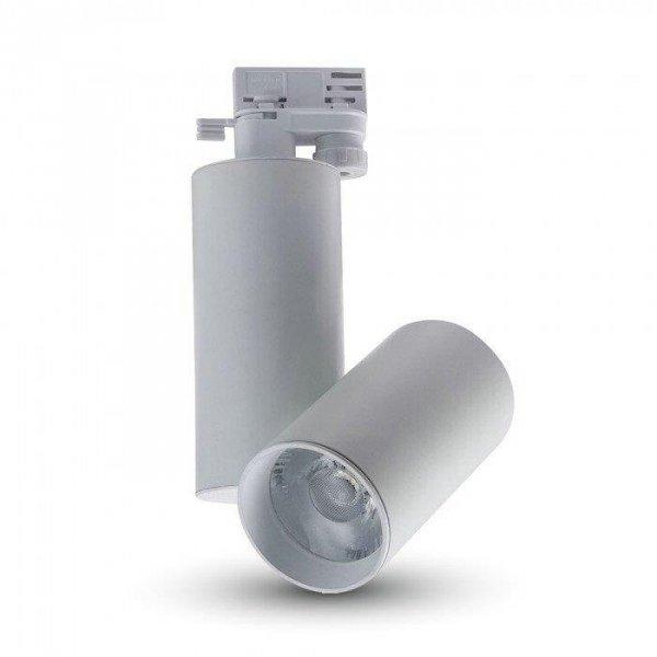 Oprawa Track Light LED V-TAC 30W 24st Biały VT-4635 6400K 2700lm 5 Lat Gwarancji