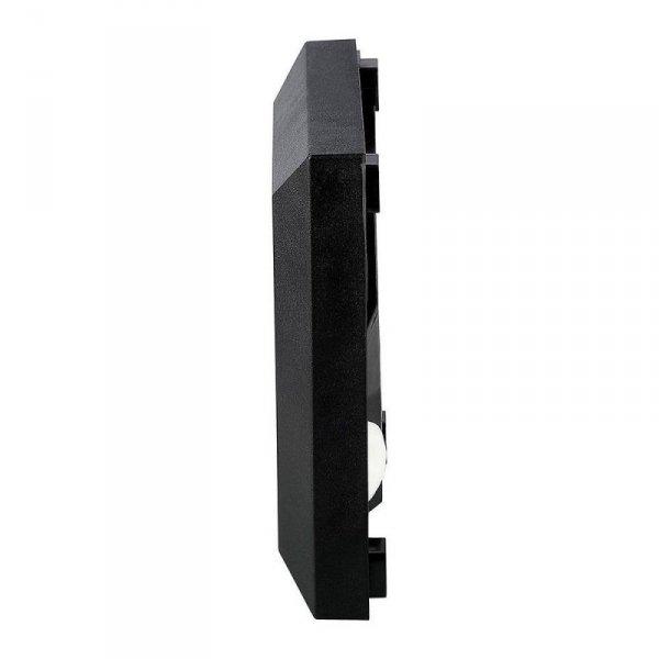 Oprawa Schodowa 2W LED V-TAC Czarny Kwadrat 230V IP65 VT-1152 4000K 60lm