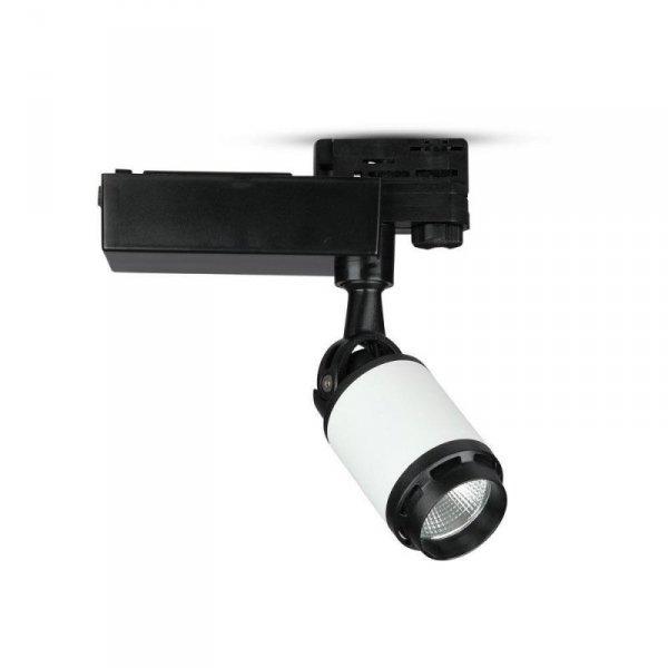 Oprawa Track Light LED V-TAC 25W 24st Czarny Biały VT-4528 6400K 2100lm