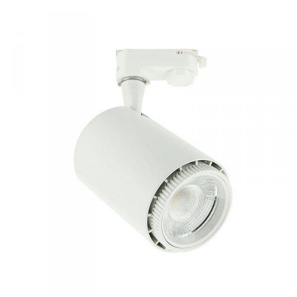 Oprawa Track Light LED V-TAC 18W COB Biały VT-4718 1450lm 5 Lat Gwarancji