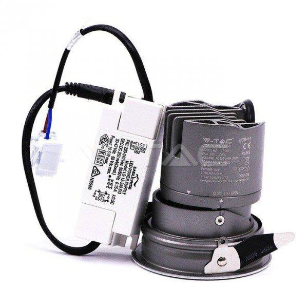 Oprawa LED Downlight V-TAC 6W COB CREE CRI95+ UGR19 24st VT-2907 4000K 400lm 5 Lat Gwarancji