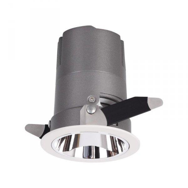 Oprawa LED Downlight V-TAC 10W COB CREE CRI95+ UGR19 24st VT-2911 3000K 650lm 5 Lat Gwarancji