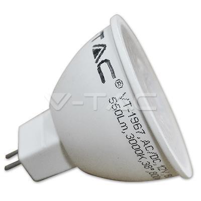 Żarówka LED V-TAC 7W GU5.3 MR16 12V AC/DC VT-1967 6000K 550lm