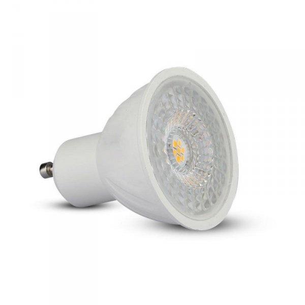 Żarówka LED V-TAC SAMSUNG CHIP 6.5W GU10 110st Ściemnialna VT-247 4000K 450lm 5 Lat Gwarancji