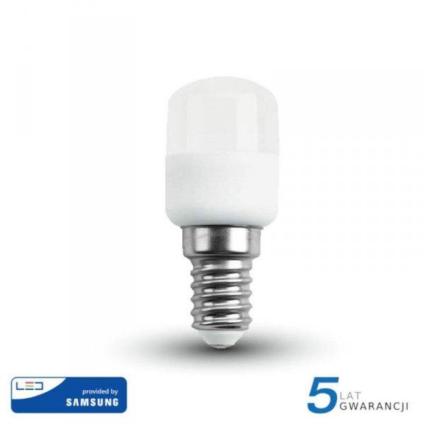 Żarówka LED V-TAC SAMSUNG CHIP 2W E14 Tablicowa Do Lodówek ST26 VT-202 4000K 180lm 5 Lat Gwarancji