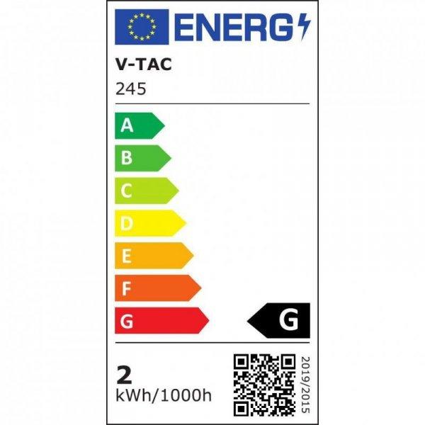 Żarówka LED V-TAC SAMSUNG CHIP 2.5W G9 VT-203 6400K 200lm 5 Lat Gwarancji