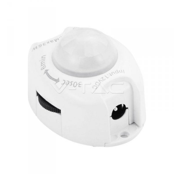 Czujnik Ruchu Uniwersalny do Taśm LED V-TAC VT-8069 3 Lata Gwarancji