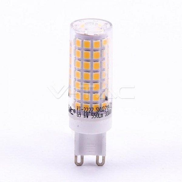 Żarówka LED V-TAC 6W G9 VT-2227 3000K 550lm