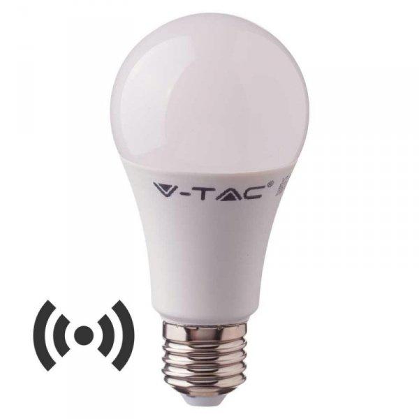 Żarówka LED V-TAC 11W E27 A60 Czujnik Mikrofalowy VT-2211 3000K 1055lm
