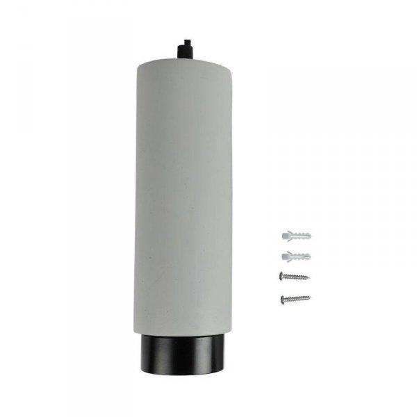 Oprawa V-TAC GIPS BETON GU10 Zwis Szary/Czarny VT-864 5 Lat Gwarancji