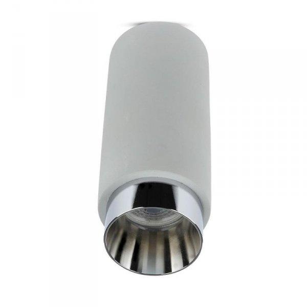 Oprawa V-TAC GIPS BETON GU10 Natynkowa Szary/Chrom VT-865 5 Lat Gwarancji