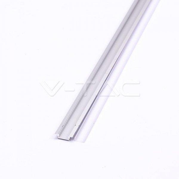 Profil Aluminiowy V-TAC 2000x24.7x7mm Klosz Mleczny VT-8106