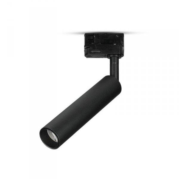 Oprawa 7W LED V-TAC Track Light SAMSUNG CHIP CRI90+ Czarna VT-407 5000K 420lm 5 Lat Gwarancji