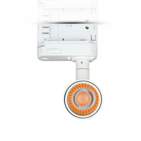 Oprawa 20W LED V-TAC Track Light SAMSUNG CHIP CRI90+ Biała VT-420 4000K 1600lm 5 Lat Gwarancji