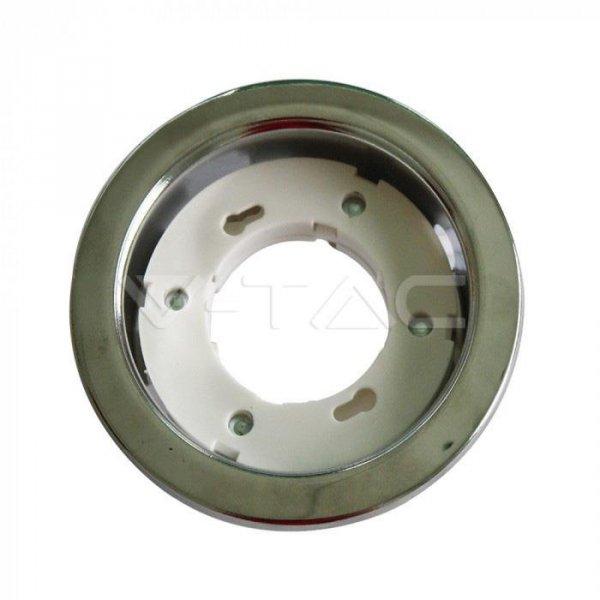 Oprawa Oczko V-TAC 1xGX53 Wpuszczana Okrągły Chrom VT-715