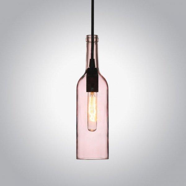 Oprawa Wisząca V-TAC Butelka Różowy VT-7558 5 Lat Gwarancji