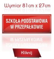 WYMIAR 81cm x 27cm