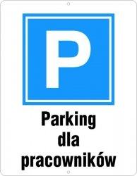 Parking dla pracowników