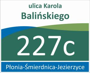 Tablica adresowa Szczecin 40,5 cm x 33 cm