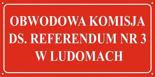 Tablica obwodowa komisja wyborcza