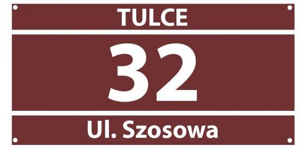 Tablica numer na dom 31/15cm (odblask)