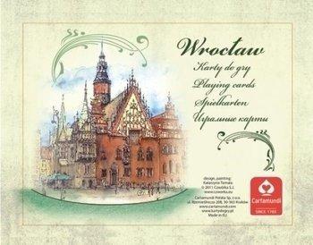 Karty Wrocław Akwarele 2x55 l