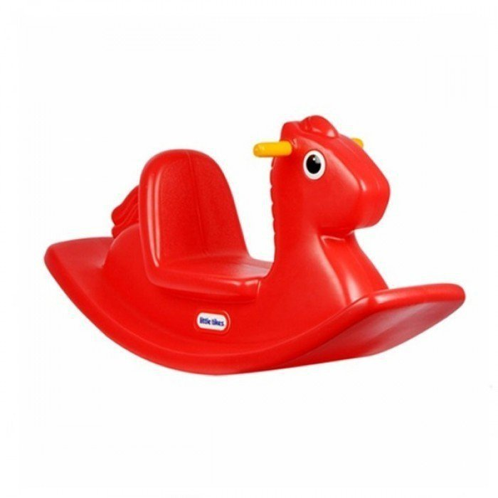 Koń Na Biegunch Czerwony