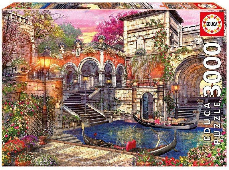 Puzzle 3000 elementów, Romantyczna Wenecja