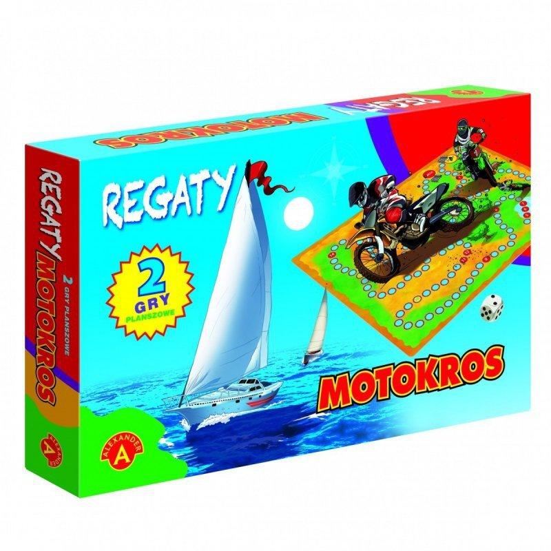 Gra Regaty - motokros