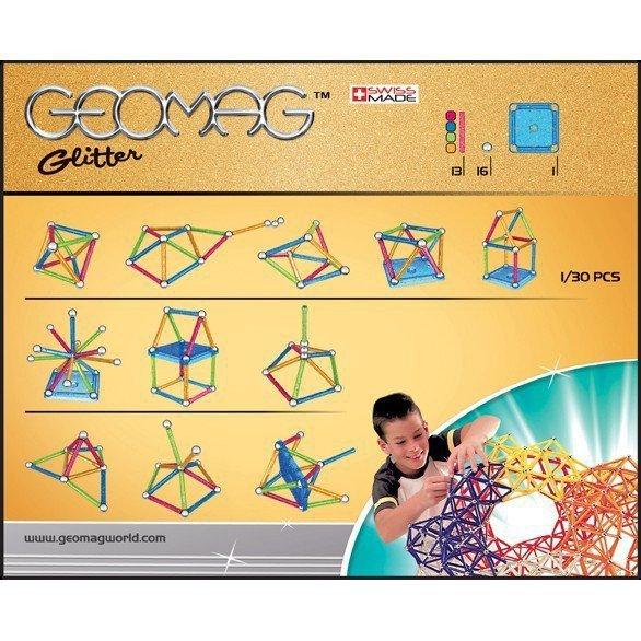 Kolor magnetyczny Color Glitter 30 elementów