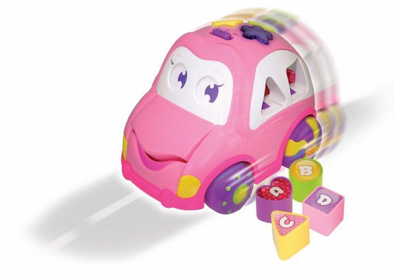 Auto Wesolek różowy