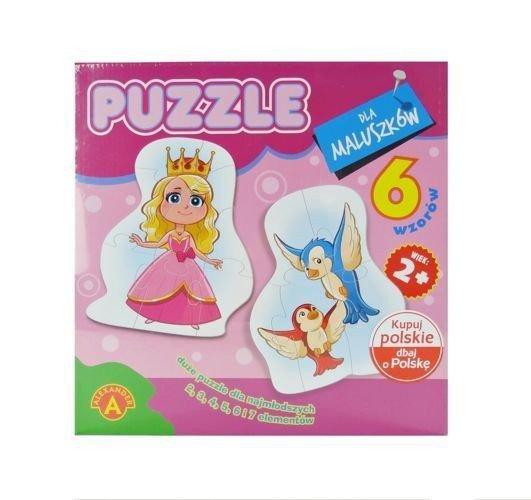 Puzzle dla maluszków Królewna