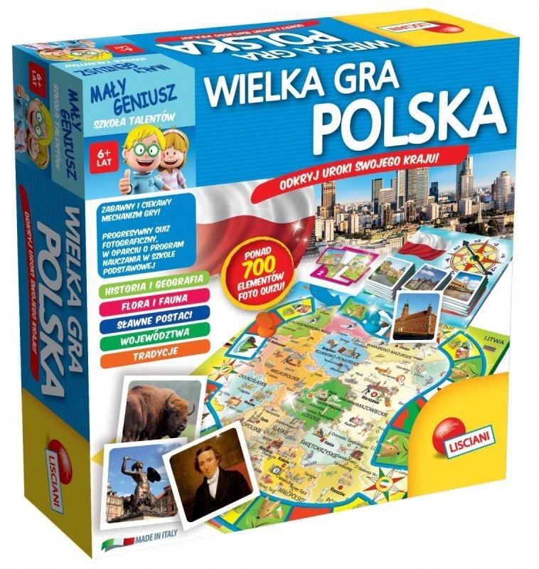 Mały Geniusz, Wielka gra - Polska