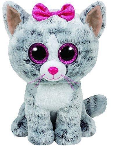 Maskotka TY Beanie Boos Kiki - Kot, 24 cm