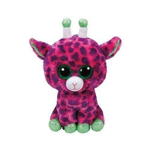 Maskotka TY Beanie Boos Gilbert - Różowa żyrafa 24 cm