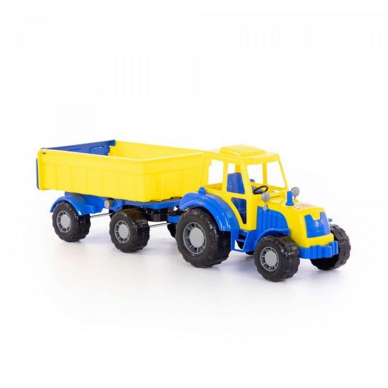 Pojazd Altaj Traktor z przyczepą, siatka