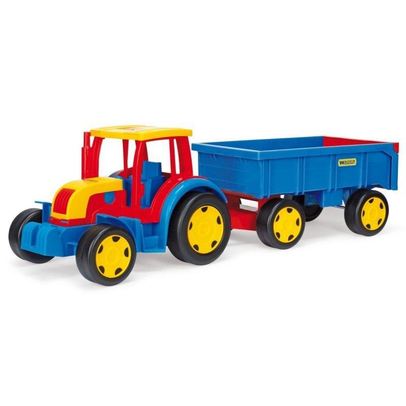 Traktor z przyczepą 120 cm Gigant pudełko