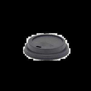 Pokrywka wieczko PS do kubka czarne średnica 70mm, 100szt