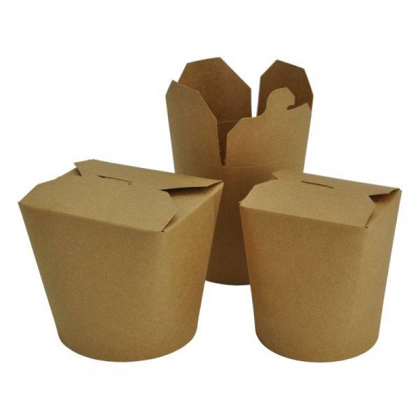 Noodle box kraft 750ml, 50szt