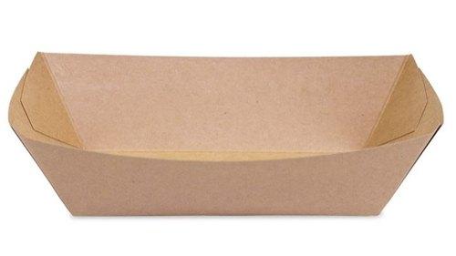 Tacka papierowa głęboka powlekana 300ml 14,5x10cm, 100szt