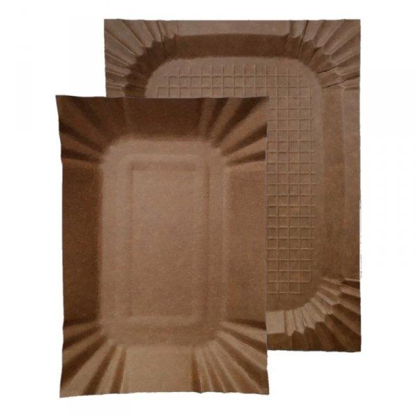 Tacka papierowa kraft 18x24cm, 100szt