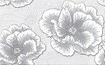 Cersanit Ferrata Grey Inserto Flower 25x40