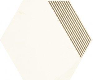 Paradyż Calacatta Hexagon Mat. B 17,1x19,8