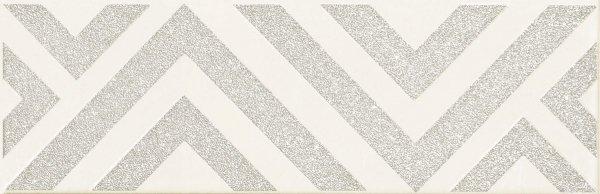 Domino Burano Bar White C Dekor 23,7x7,8