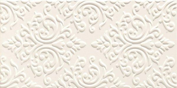 Domino Delice White STR Dekor 22,3x44,8