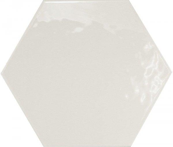 Equipe Hexatile Blanco Brillo 17,5x20