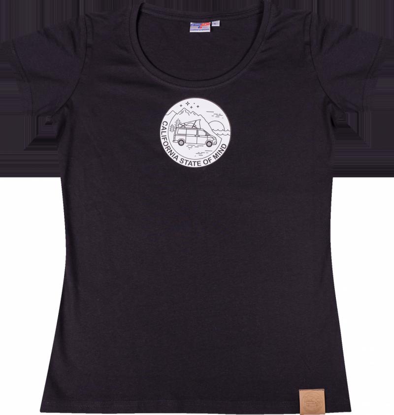 Koszulka damska T-shirt California State of Mind